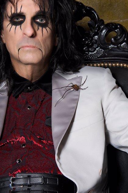 El legendario rockero Alice Cooper, de gira por España