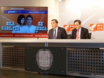El Palacio Euskalduna de Bilbao acoge este lunes y martes la segunda feria del empleo juvenil 'Prestik'10'