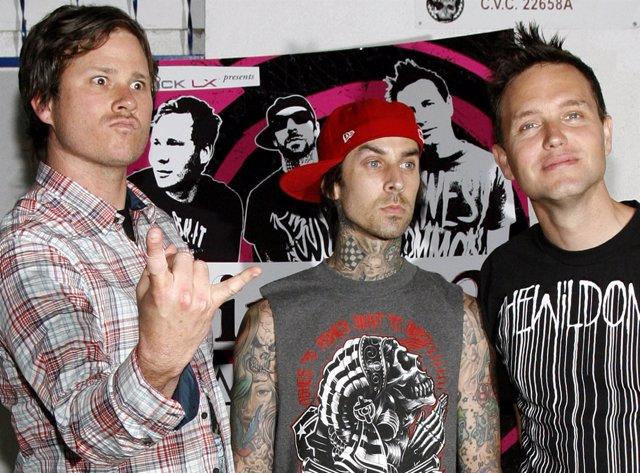 El trío de punk-rock Blink-182