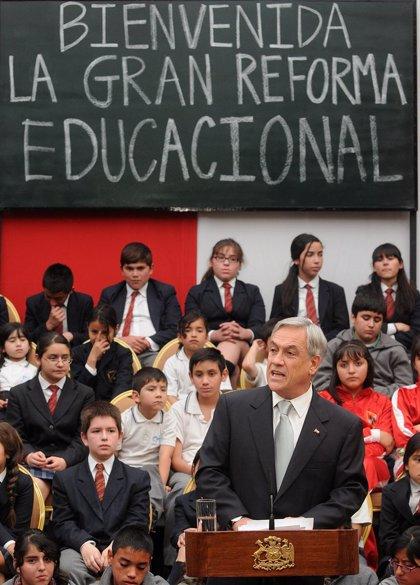Chile.- Piñera invertirá unos 7.400 millones de euros en la reforma del sistema educativo de Chile