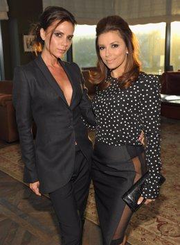 Victoria Beckham y Eva Longoria