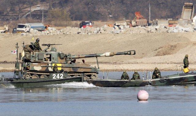 Tanques de Corea del Sur