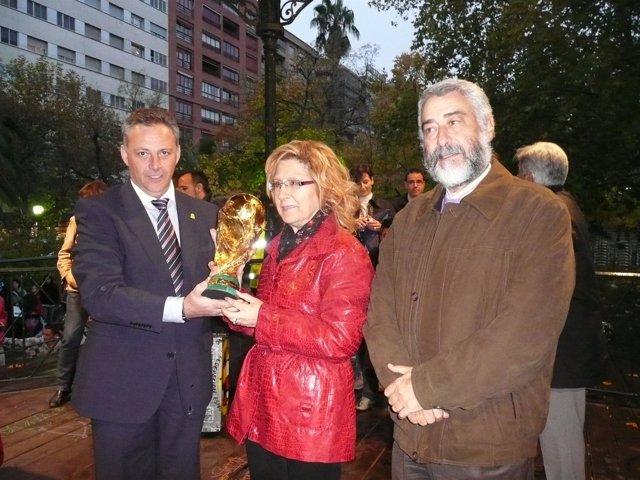 Copa del Mundo en Cáceres