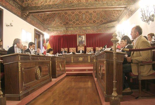 Pleno de la Diputación Provincial de Valladolid