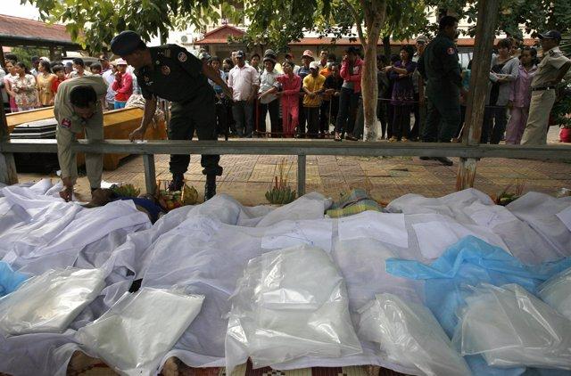 Fallecidos en a la capital de Camboya, Phno
