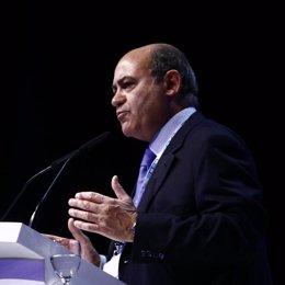 El presidente de la patronal (CEOE), Gerardo Díaz Ferrán