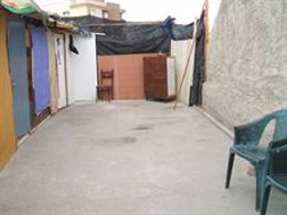 Chabolas desalojadas en Motril (Granada)