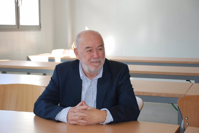 El rector de la UAL Pedro Molina