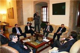 Vara, Franco y los presidentes del SIP