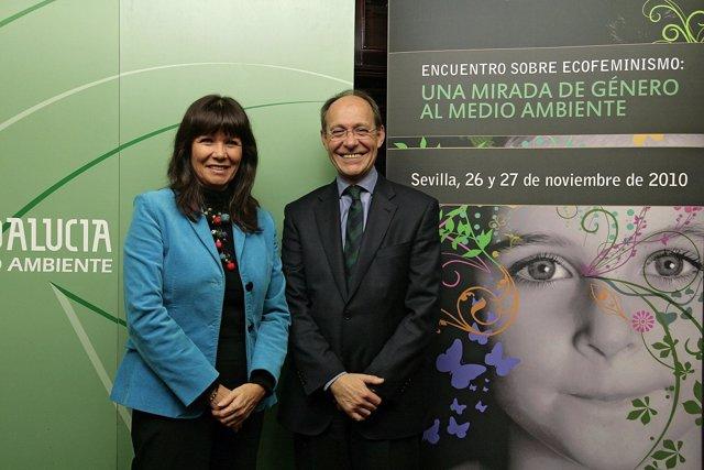 Los consejeros para la Igualdad y Bienestar Social y Medio Ambiente, Micaela Nav