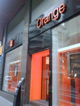 Tienda Orange en Bilbao