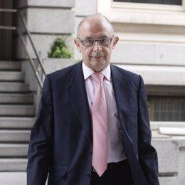 portavoz económico del PP, Cristóbal Montoro
