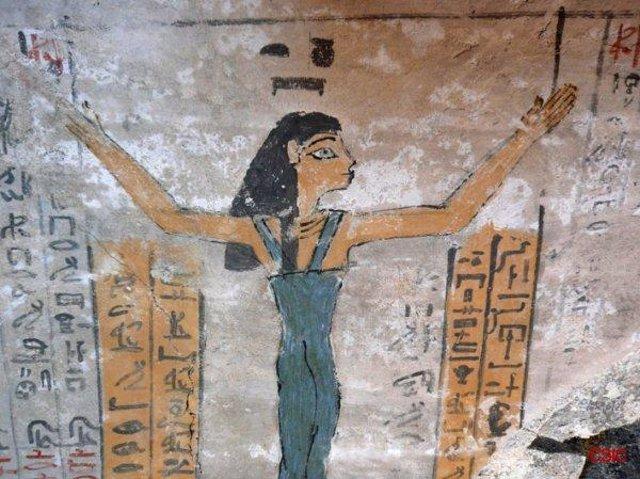 Imagen sepulcral egipto