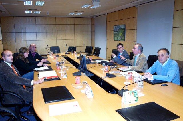 Reunión en la tesorería de la Seguridad Social