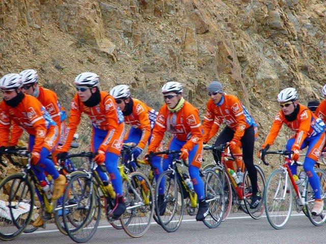 Equipo de élite del CAI Club Ciclista Aragonés
