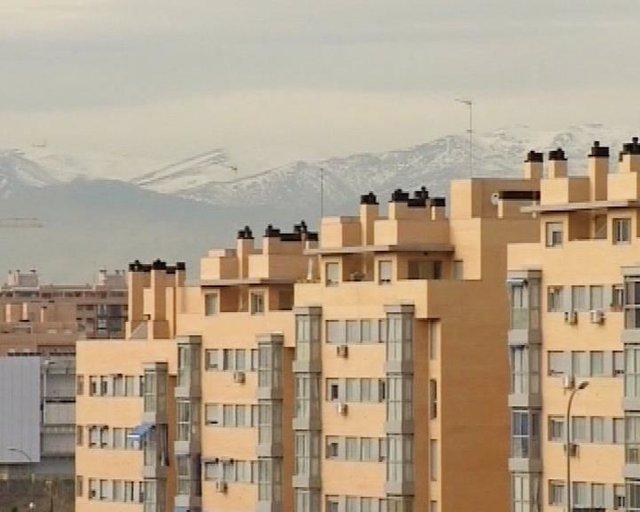 Vista de unos pisos