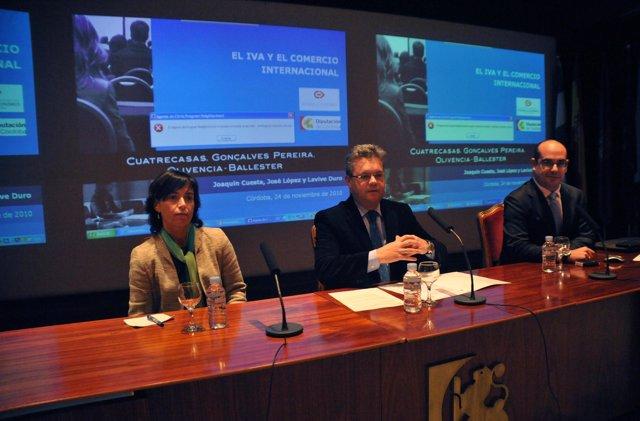 seminario sobre el IVA y el comercio internacional, organizado por el Consorcio