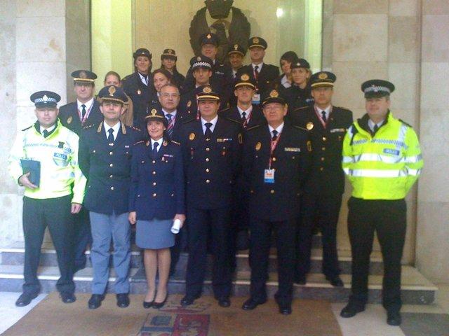 Intercambio experiencias policías locales
