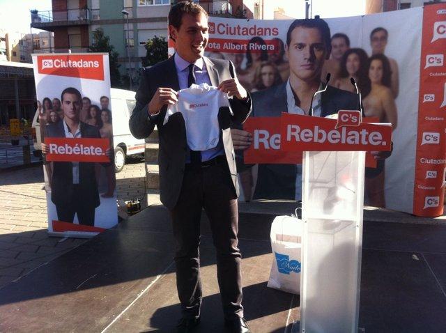 Rivera, en campaña