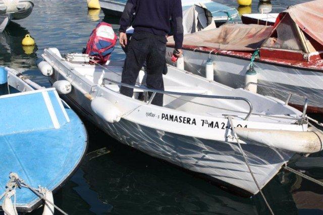 Embarcaciones decomisadas por pesca ilegal