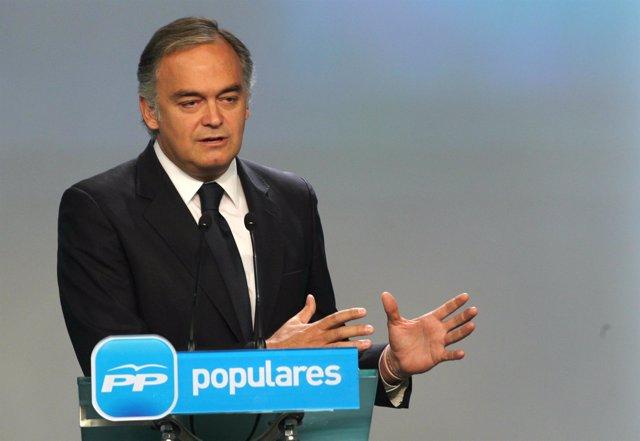Rueda de prensa de Esteban González Pons