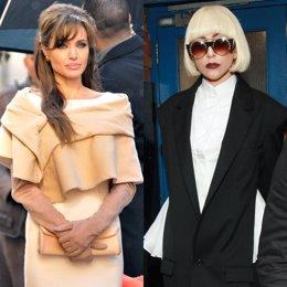 Angelina Jolie y Lady Gaga