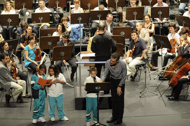 La OST actuó para más de 2.000 escolares de Tenerife