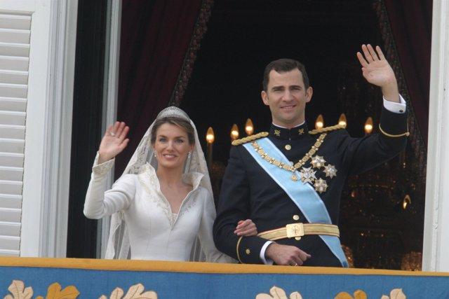 La Boda Real del Príncipe Felipe y Letizia Ortiz