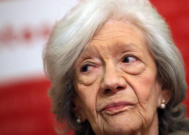 La escritora Ana María Matute en 2009