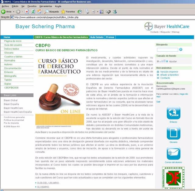 Nota De Prensa 24/11/2010 Se Lanza La Versión On Line Actualizada Del Curso Bási