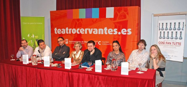 Presentación XXII Temporada Lírica del Teatro Cervantes de Málaga