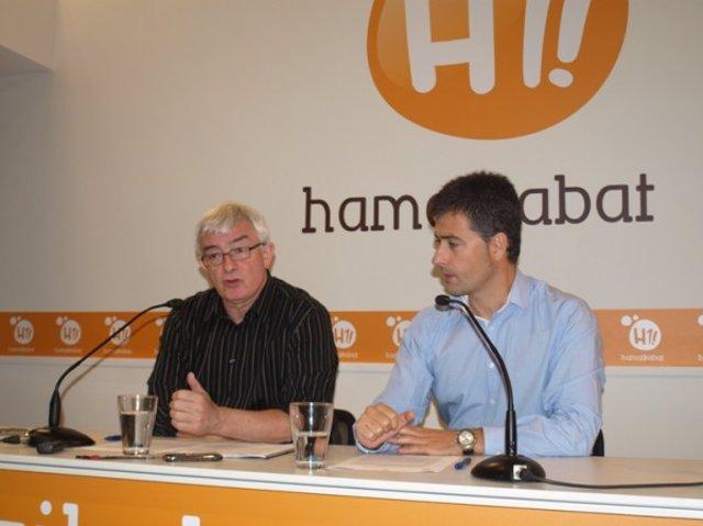 Joxean Rekondo y Martin Beramendi