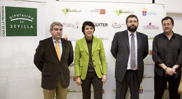 Presentación de la I Feria de Vinos de Mesa de Andalucía