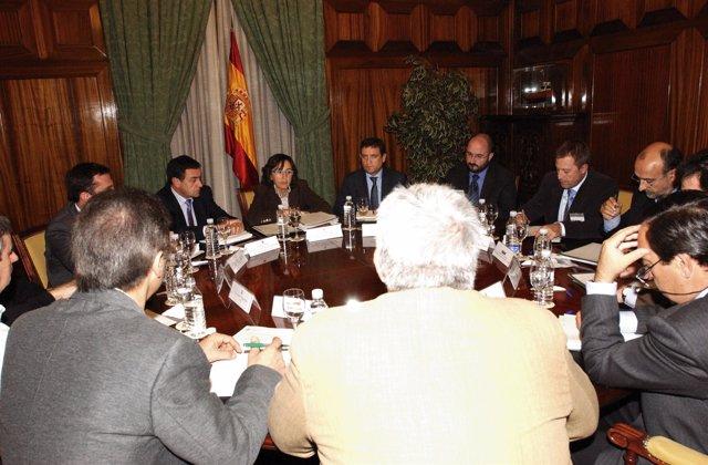 Aguilar se reúne con las organizaciones agrarias