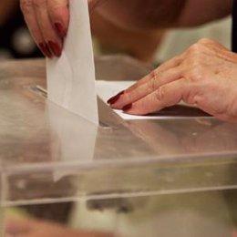 Urna, elecciones, comicios, votar