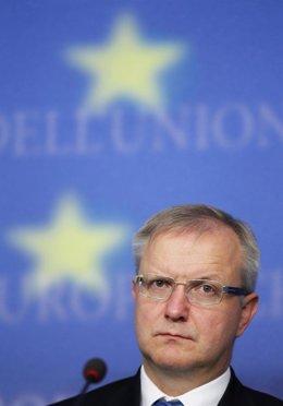 El comisario de Asuntos Económicos de la UE, Olli Rehn