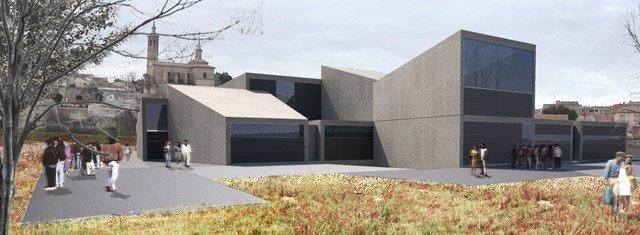 Recreación del futuro Museo en Fuendetodos
