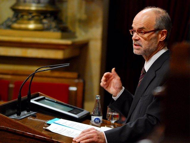 El conseller Antoni Castells