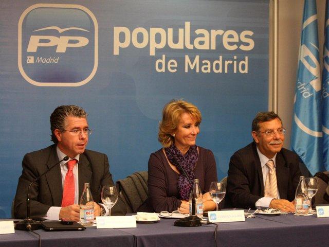Aguirre en el Comité de Dirección