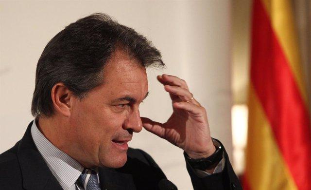 Artur Mas, presidente de CiU