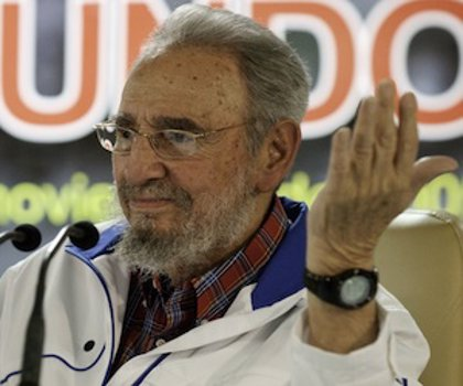 Cuba.- Fidel Castro se reúne con intelectuales hispanoamericanos