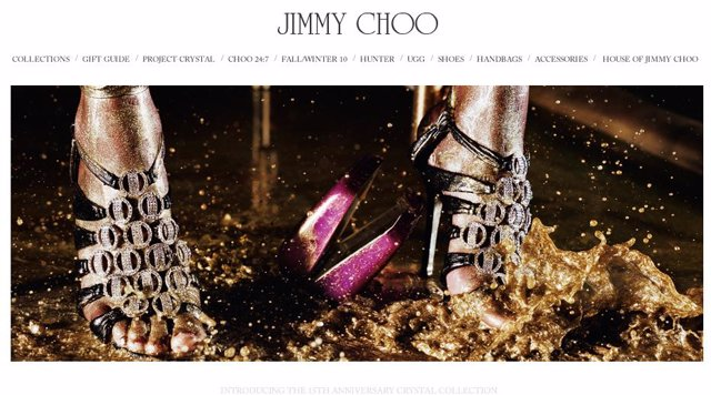Crystal Collection de Jimmy Choo