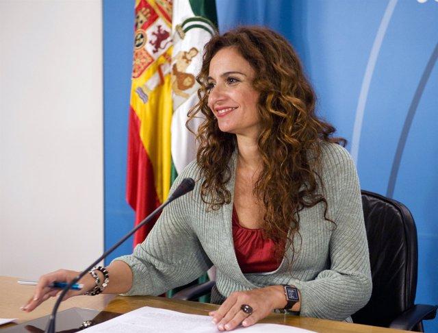 La consejera andaluza de Salud, María Jesús Montero