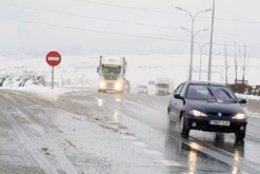 El Gobierno de Navarra recomienda precaución a los conductores por la posibilida