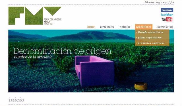 Feria del Mueble Yecla presenta su nueva página web