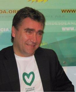 Mario Ortega, portavoz de Los Verdes de Andalucía