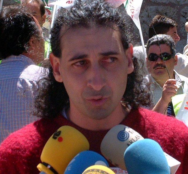 El coordinador de UCCL, Jesús Manuel González Palacín