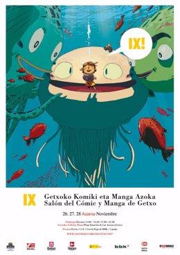 Cartel del Salón Comic Getxo.