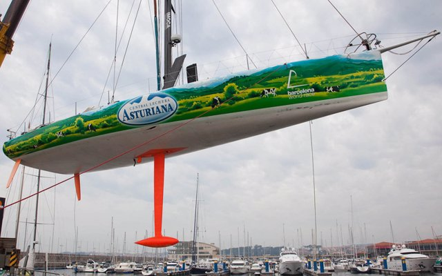 Vela Central Lechera Asturiana Barcelona World Race