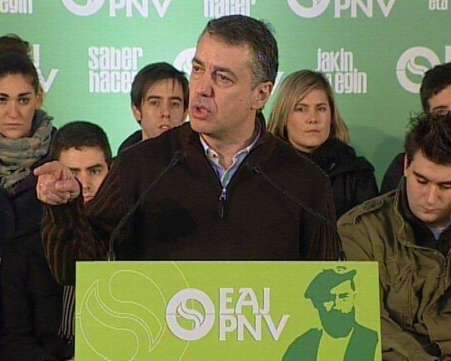 Declaraciones de Iñigo Urkullu (PNV) en un acto en homenaje a Sabino Arana